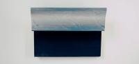 H72S4D Blauw - zilver handgegrondeerd